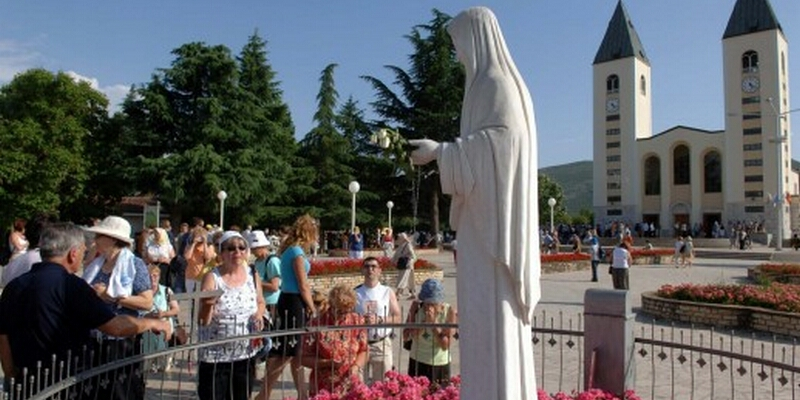 A place of prayer and peace. Medjugorje is Marian and World Prayer Center which is often compared to Lourdes and Fatima.