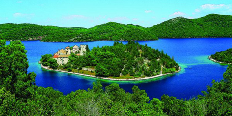 The island of Mljet is the eighth largest Croatian island, one part of the island is oldest national park in Croatia.